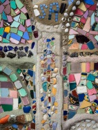 Mosaic detail, Watts Towers.